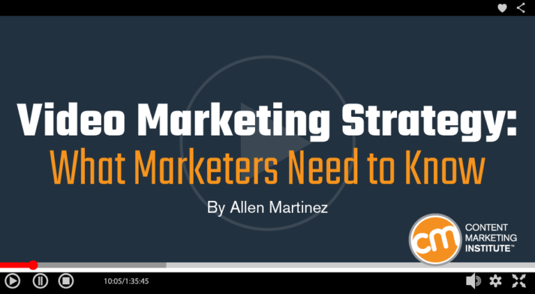 Many marketing teams tremble when contemplating video