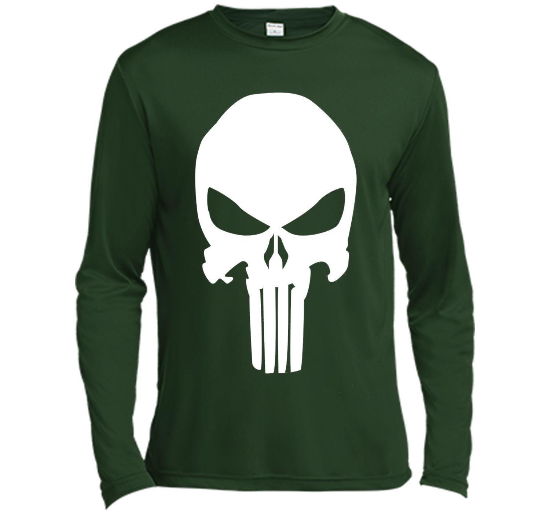45ff8ef9aee3c2 Punisher Classic Skull Symbol Graphic T-Shirt cool shirt. Marvel Punisher  Retro ...