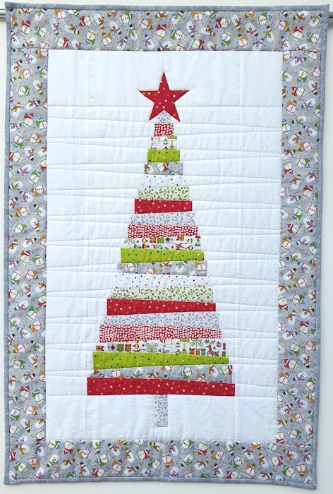 Christmas Quilting Fabric 2020 Lucy's latest Christmas creation in 2020 (With images)   Christmas