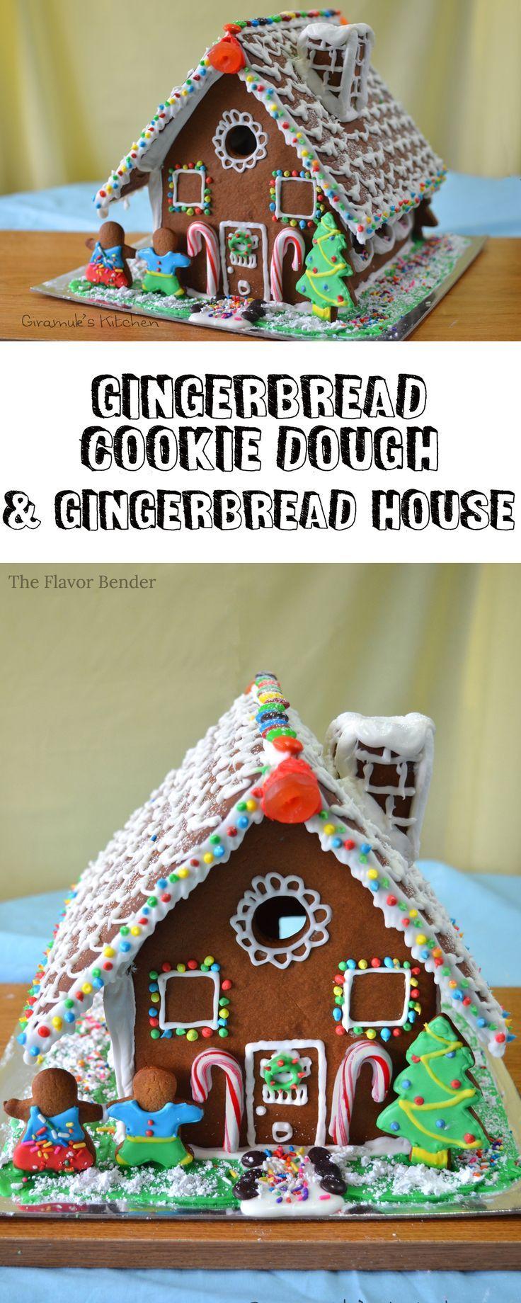 Gingerbread House {Recipe & Template} | The Flavor Bender (scheduled via http://www.tailwindapp.com?utm_source=pinterest&utm_medium=twpin&utm_content=post21176466&utm_campaign=scheduler_attribution)