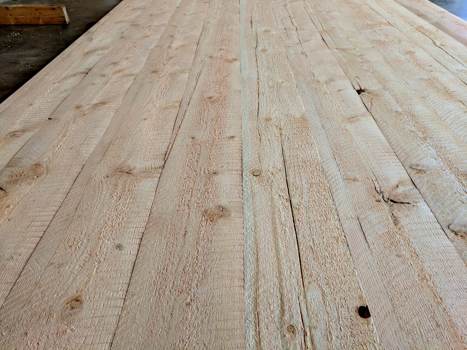Unfinished Circular Sawn Douglas Fir Cabin Grade Now Available At 1 99 Per Sq Ft These Boards Have Been Pulle Reclaimed Wood Floors Rustic Wood Floors Lumber