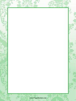 Green Leaf Border Page Borders Design Purple Pages Borders For Paper