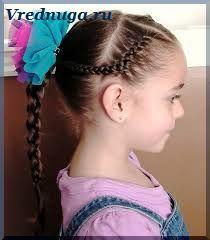 Колоски и косы - прически для девочек (с изображениями ...
