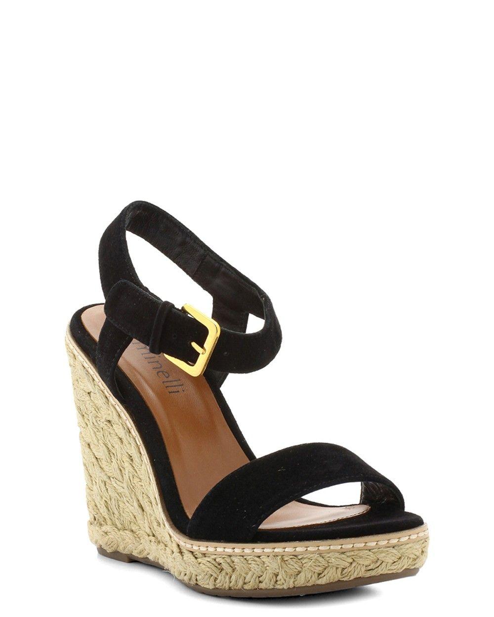 Printemps Eté Compensé Compensés Chaussures Femme Camilla ALqc45Rj3