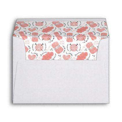 Knitting Yarn Pattern Pink Envelope Pink envelopes - sample small envelope template