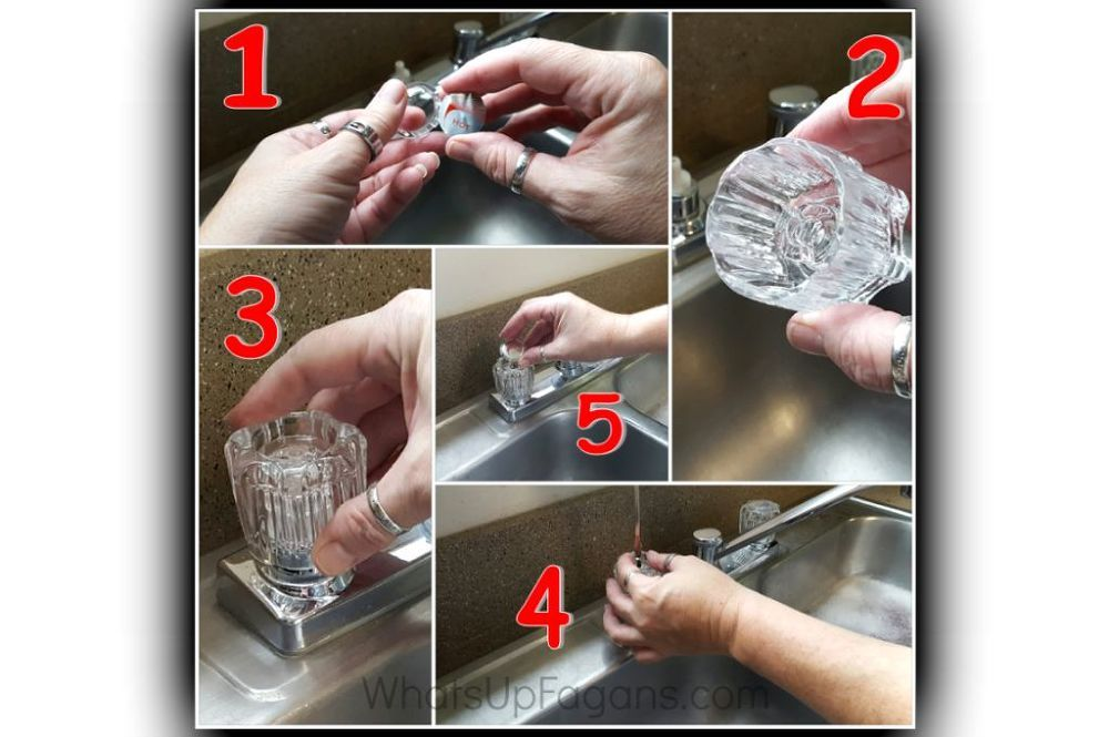How to Clean Globe Sink Faucet Handles! | Faucet handles, Globe and ...