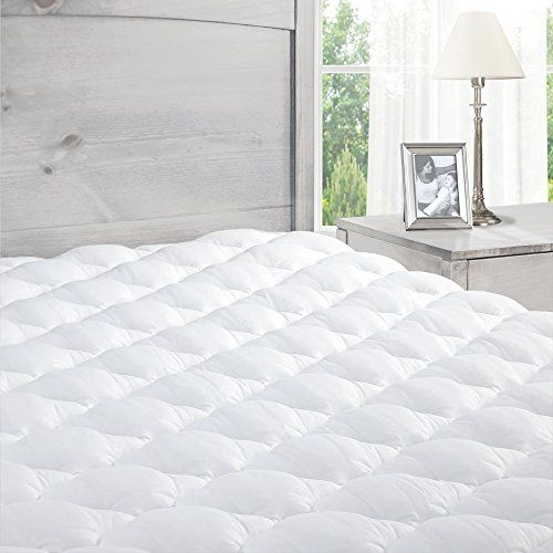 Exceptionalsheets Extra Plush Cotton Fitted Mattress Pad White