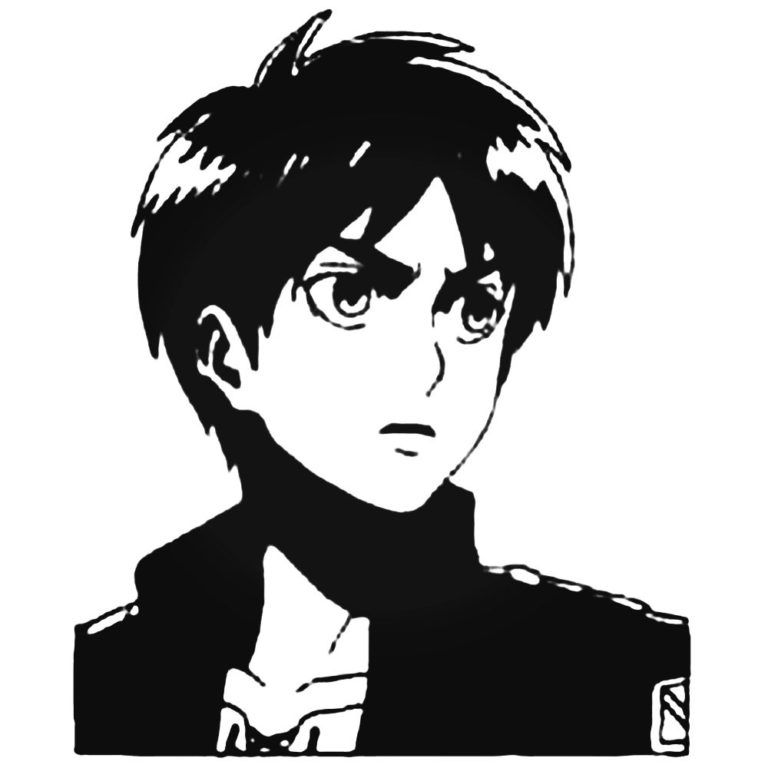 eren jaeger stickers attack on stickers pegatinas