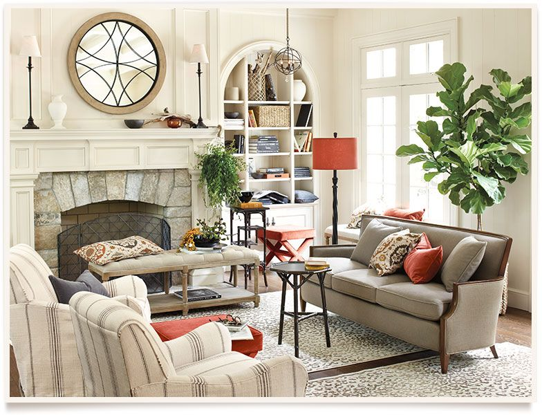 Laraine living room i ballarddesigns com