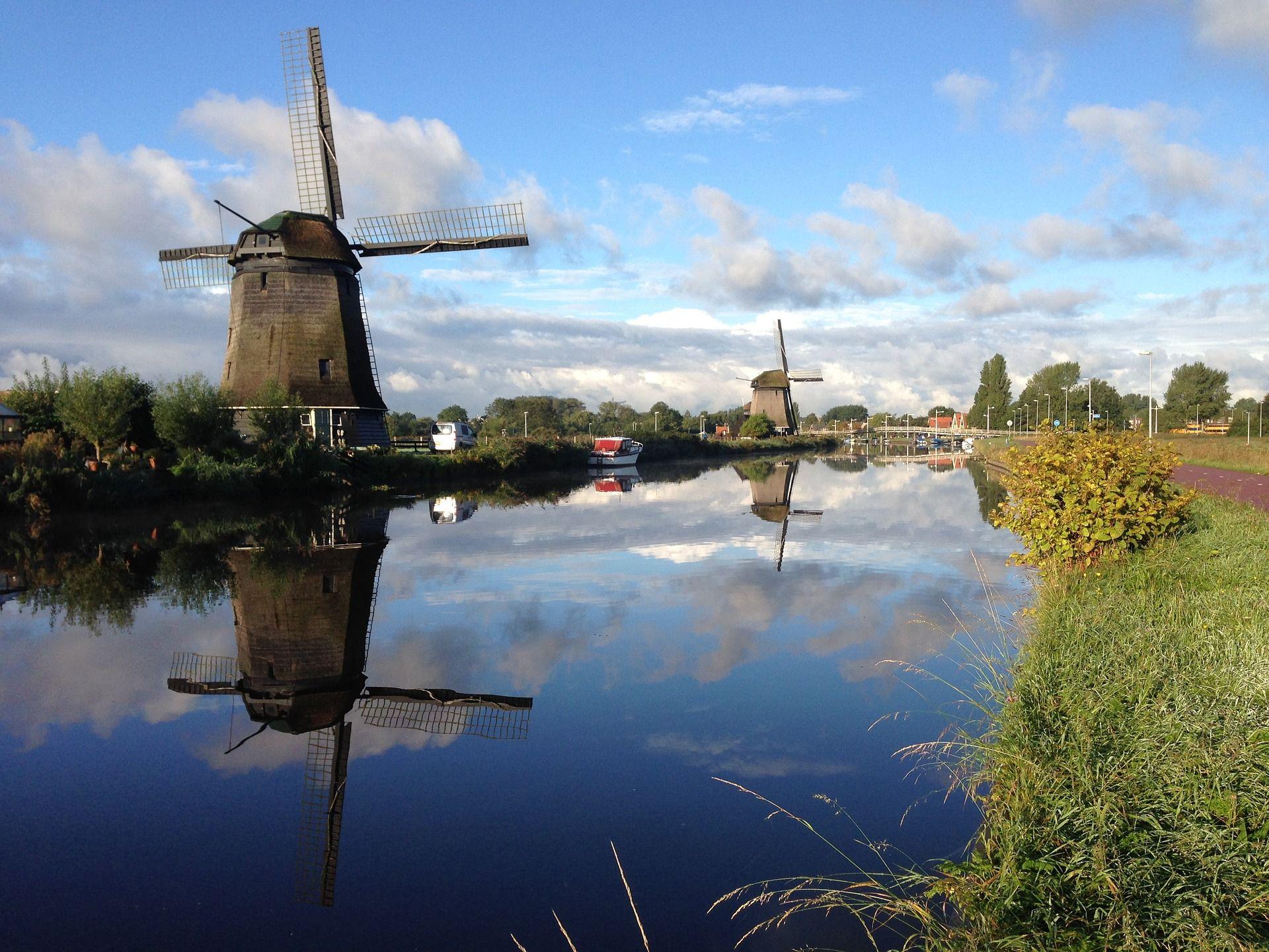 windmühle alkamaar holland mit bildern  windmühle