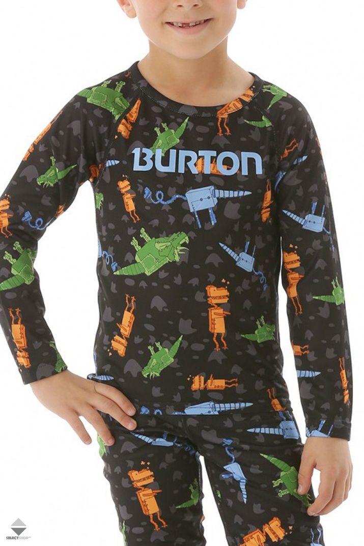 Dzieciecy Komplet Termoaktywny Burton Minishred Lightweight Set Cyborgasaurus Rex 13212101990 Snowboarding Outfit Clothes Burton