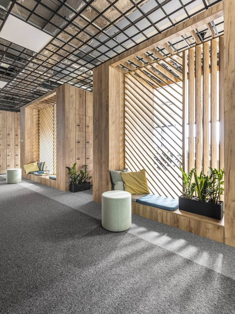 Gallery of office space in poznan metaforma 3 office for Beautiful office space design