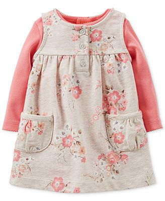 61cb905f615 Carter s Baby Girls  2-Piece Bodysuit   Jumper