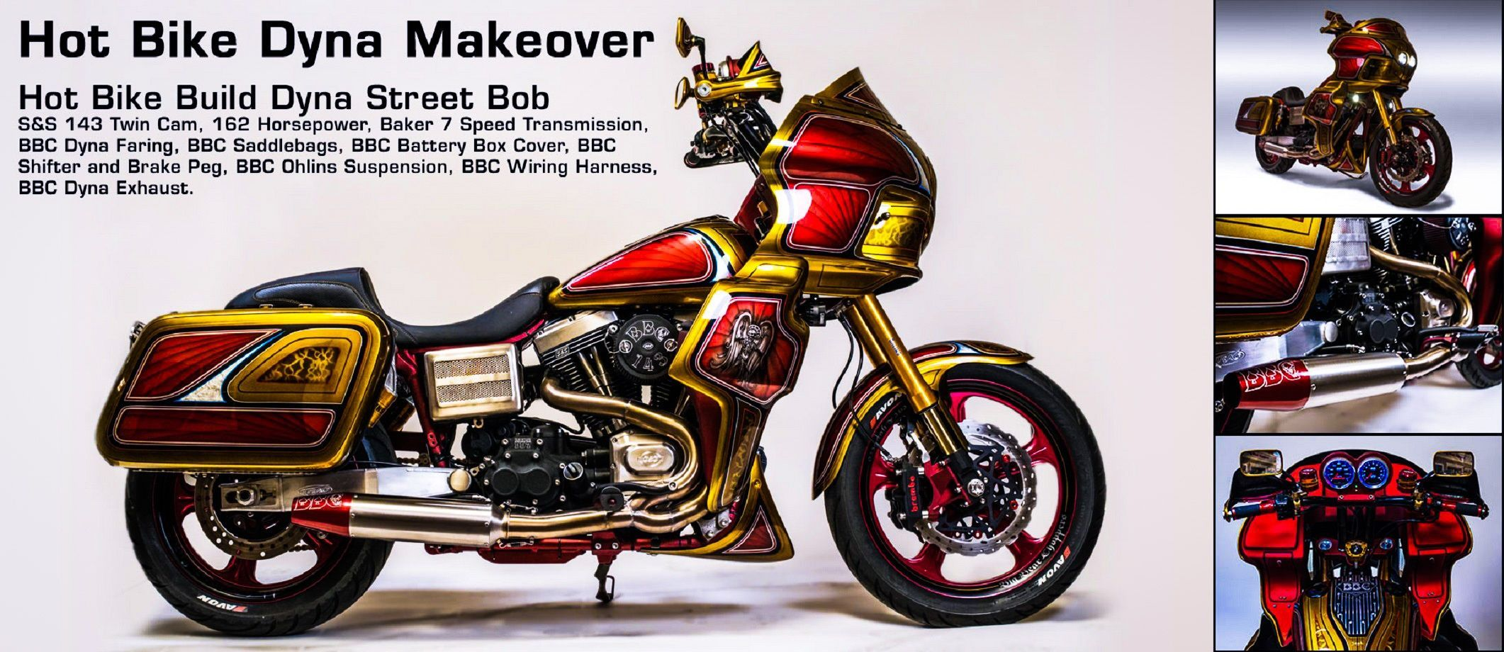 Big Bear Choppers - Titanium Dyna Makeover. http://store ...