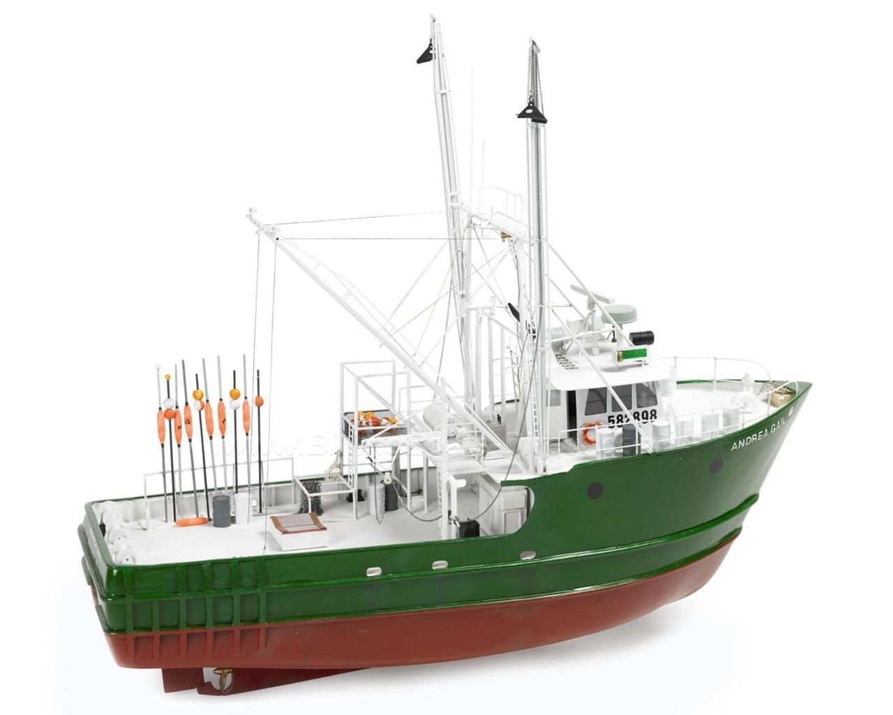 Billing boats b726 andrea gail fishing boat wood hull for Model fishing boats