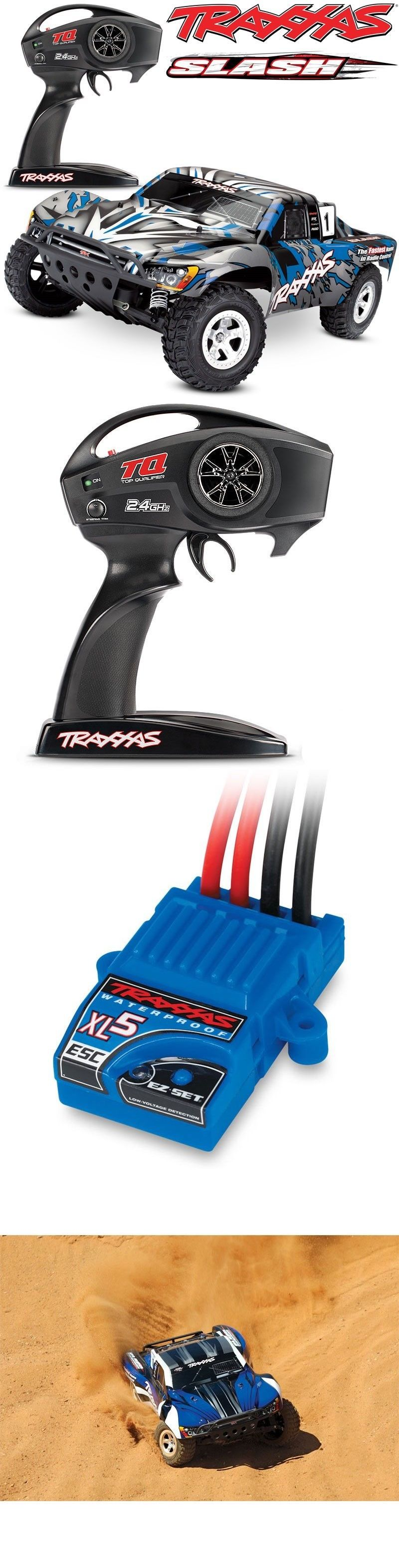 Details about NEW Traxxas 58024 Slash XL5 2WD BLUE w/TQ 2