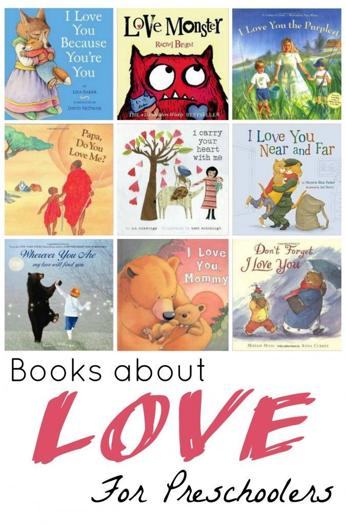 Books About Love For Preschoolers Toddler Books Preschool Books