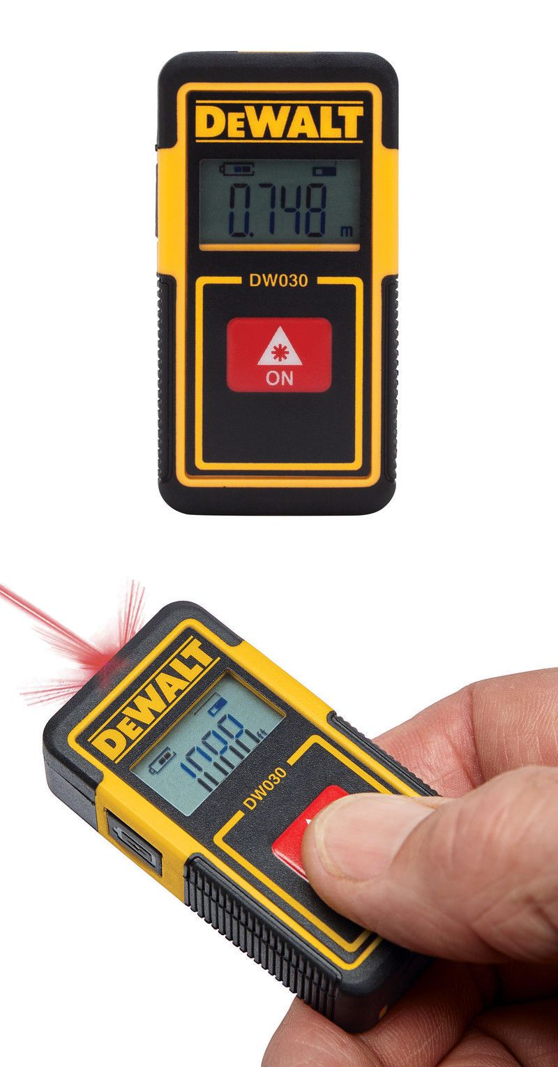 New Dewalt Pocket Laser Tape Measure Dw030pl 885911522960 Ebay Dewalt Measuring Tools Dewalt Tools