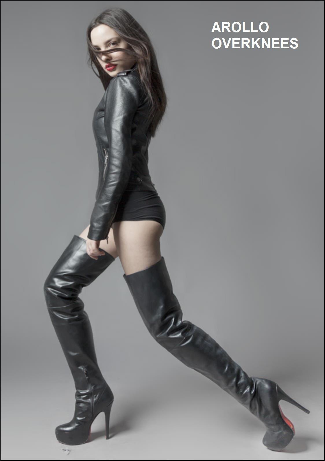 Arollo Leather Heeled Boots C03610071e1558b53237e1e306576a25