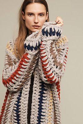 A Blog About Bohemian Women S Fashion Home Decor Interior Decorating And The Boho Lifestyle At Anthropologie Fr Roupas De Croche Trico E Croche Moda Croche