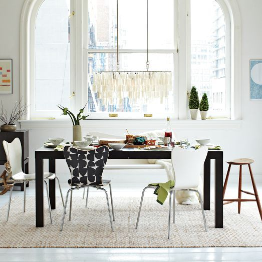 Parsons Expandable Dining Table West Elm Pantry