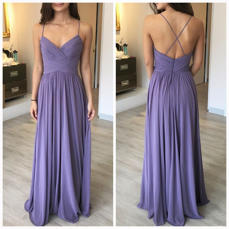 Not sure this is Azazie.. But it is called wisteria color. | Prom ...