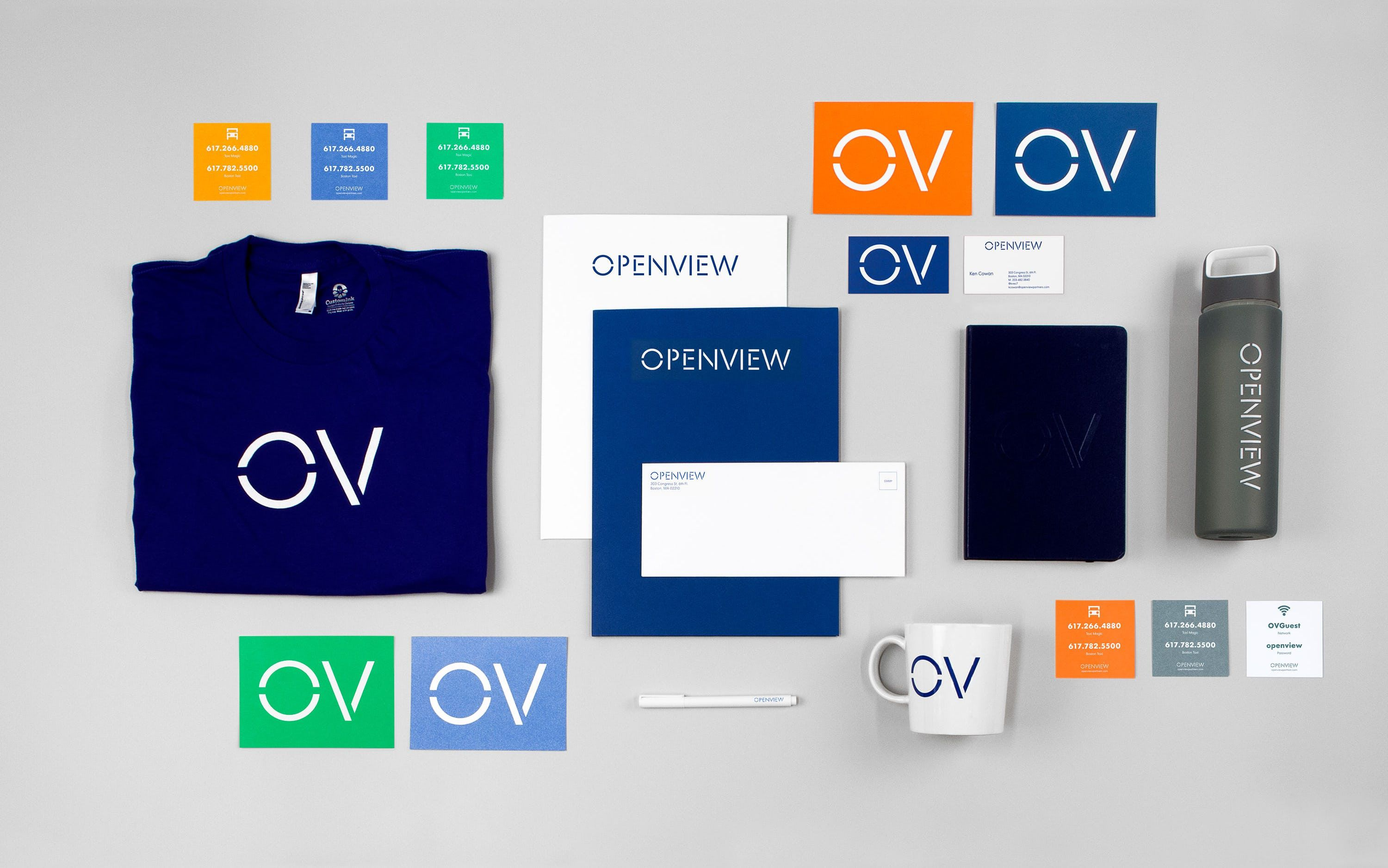 Openview pentagram microknowledge pinterest software custom typography wordmark business cards and website by pentagram for boston based venture capital firm openview reheart Choice Image