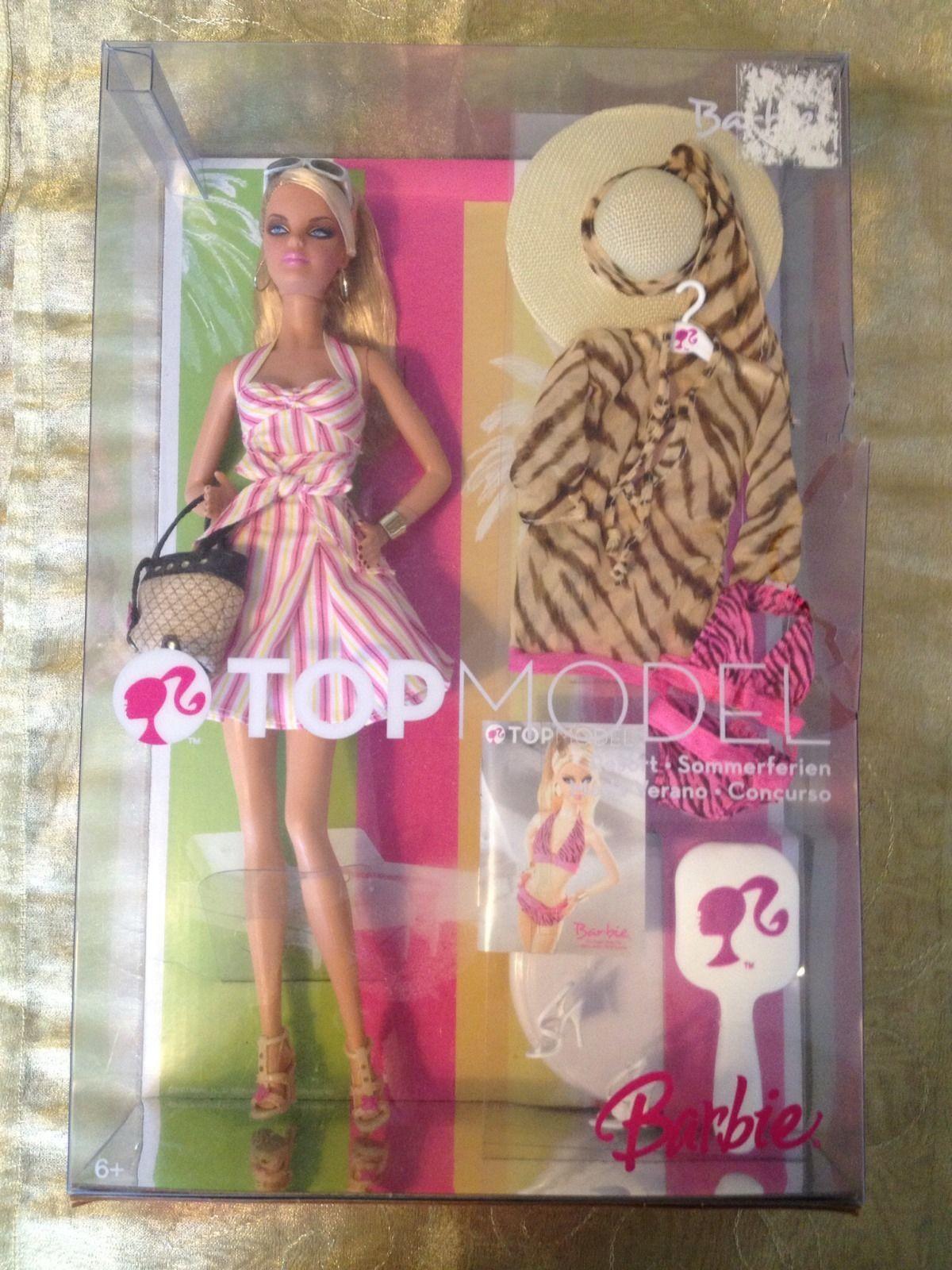 Bnib Top Model Resort Barbie Doll New Boxed 19 99 3 9 Listed