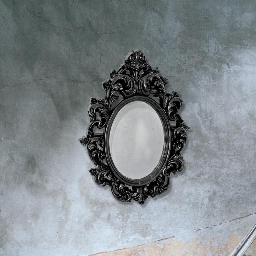 Black Decorative Wall Mirror Cl 33660 Mirrors E2 Contract Lighting Uk Mirror Design Wall Mirror Gallery Wall Mirror Wall Decor