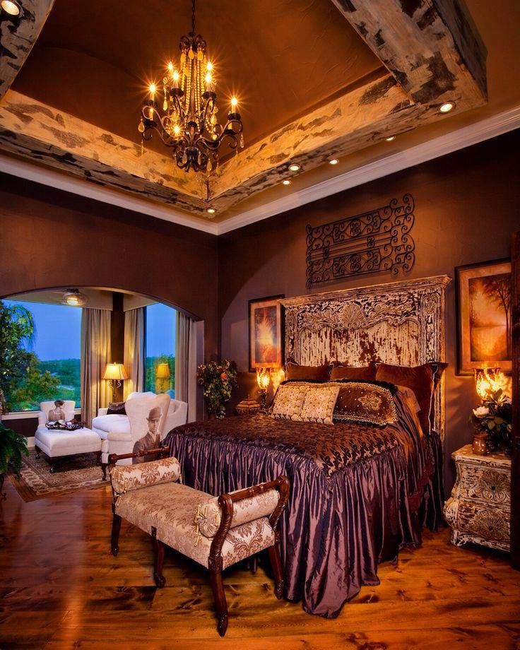 Master bedroom that has great architecture and design
