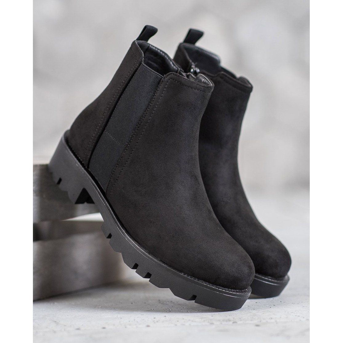 Filippo Botki Na Platformie Czarne Boots Comfortable Womens Boots Womens Boots