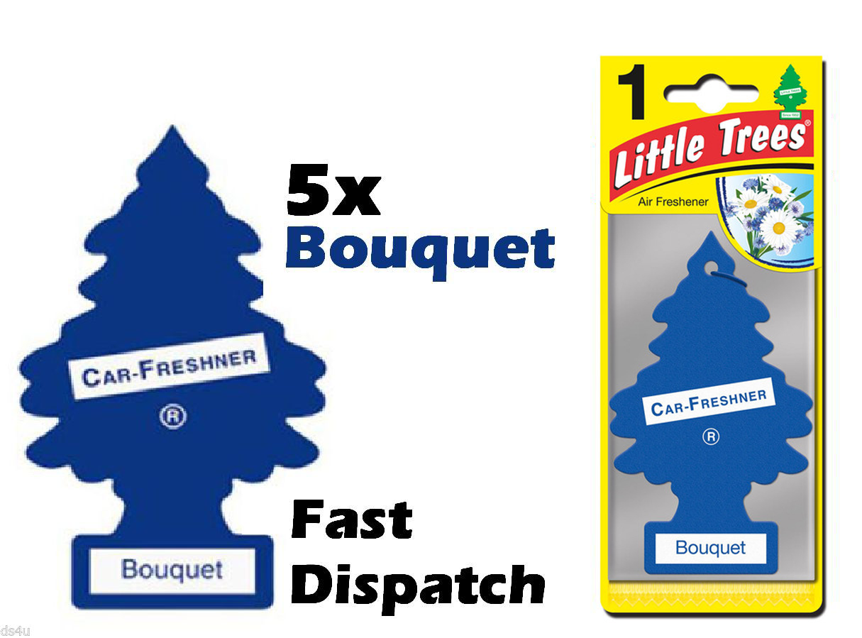 "MAGIC TREE ""LITTLE TREE"" BOUQUET FRAGRANCE CAR AIR"