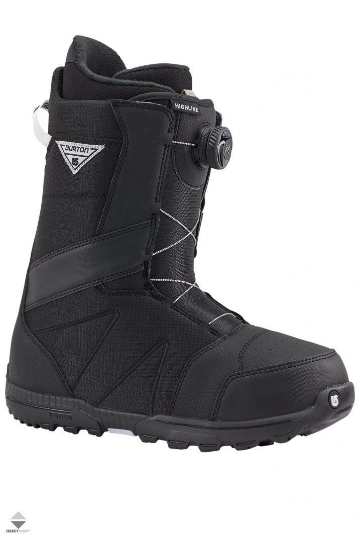 Buty Snowboardowe Burton Highline Boa Black Noir 131761010019 Snowboard Boots Burton Boots Boots Men