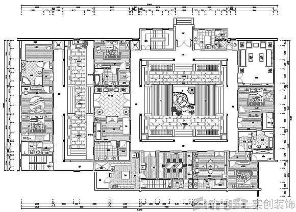 Green Building Traditional Chinese House House Floor Plans Courtyard House Plans