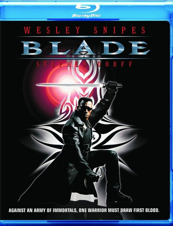 Blade  Bluray  The power of an immortal The soul of a human The heart of a