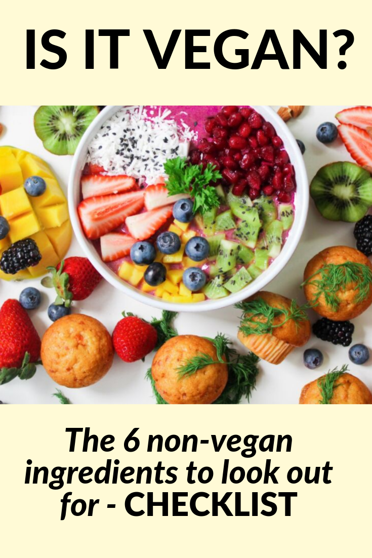 Look Out For These Non Vegan Ingredients Use Our Free Pdf Checklist Next Time You Go Healthy Eating Meal Plan Easy Clean Eating Recipes Clean Eating Breakfast
