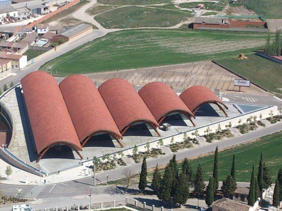 Bodegas Protos in Peñafiel, Castilla y León
