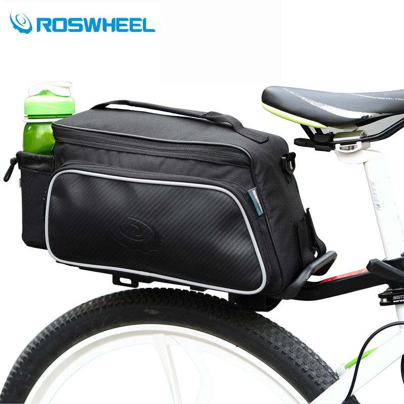 Roswheel Bicycle Bags Mountain Road Bike Bags 10l Cycling Bag Sport Basket Mtb Downhill Rack Seat Trunk Bag Bicycle A Bike Saddle Bags Bike Bag Leather Bicycle