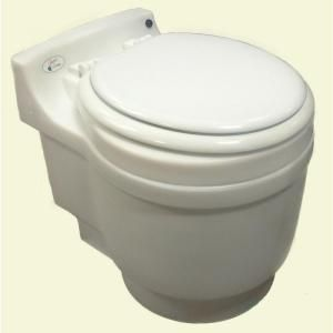 Laveo Dry Flush Chemical Free Odorless Portable Lightweight Electric  Waterless Toilet DF1045   The Home