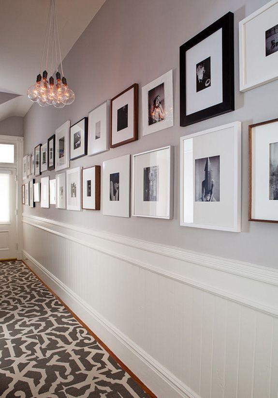 Quadros | Décoration de couloir étroit, Idées de couloir ...