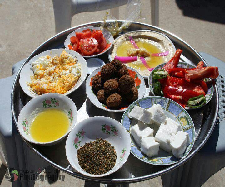 Palestinian Meal