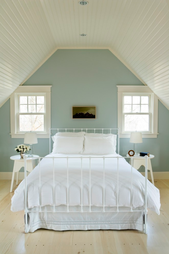 Love The Color Of This Vintage Blue Wall Paint Quiet Moments Bm