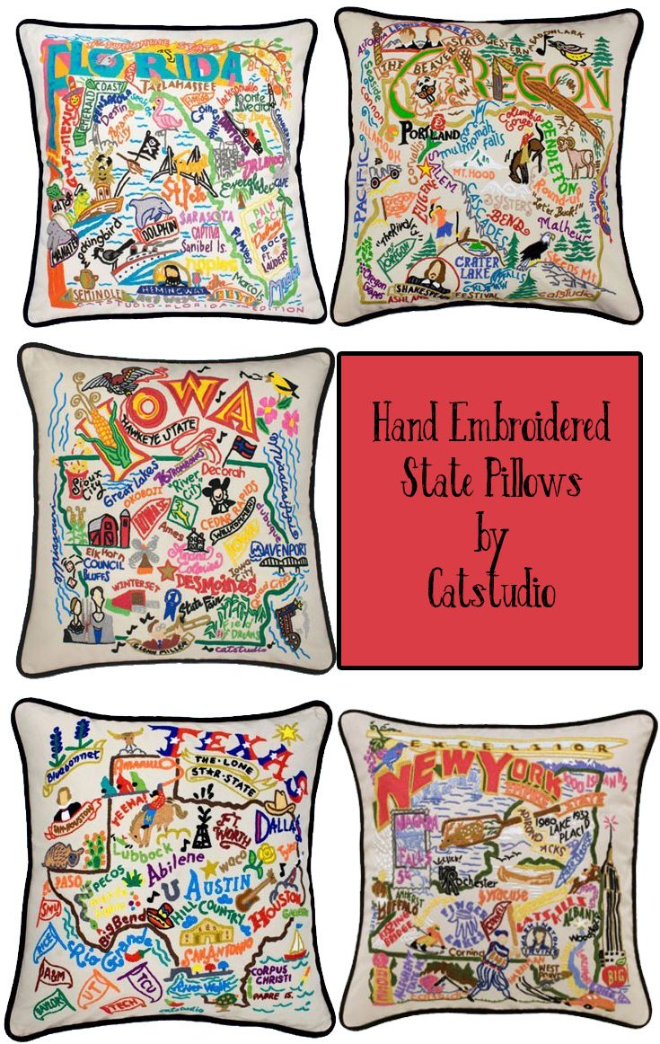 pillow state north carolina catstudio home amazon pillows kitchen com by dp