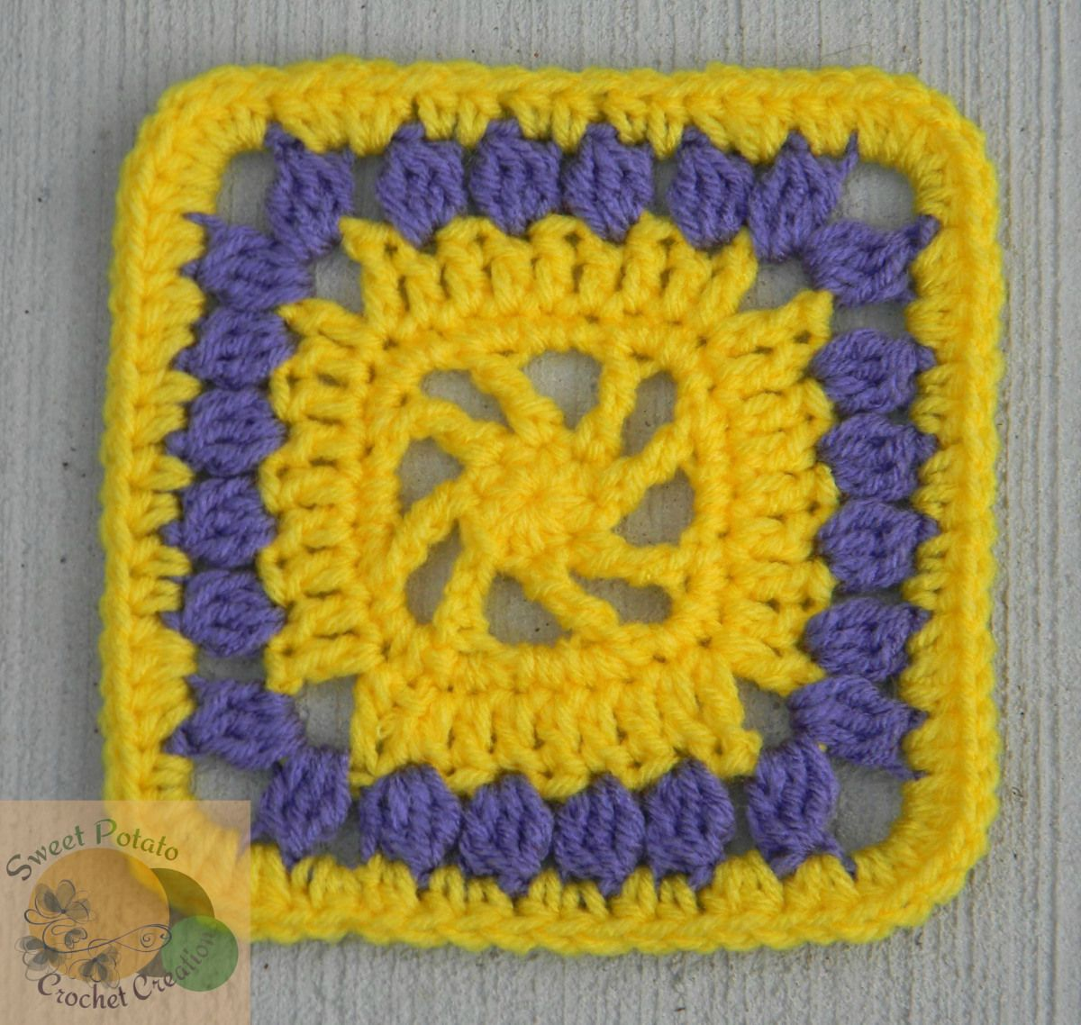 Mystery lapghan cal swirled sun square free pattern other and sun i signed up to design a free pattern for a 6 inch square for the mystery bankloansurffo Image collections