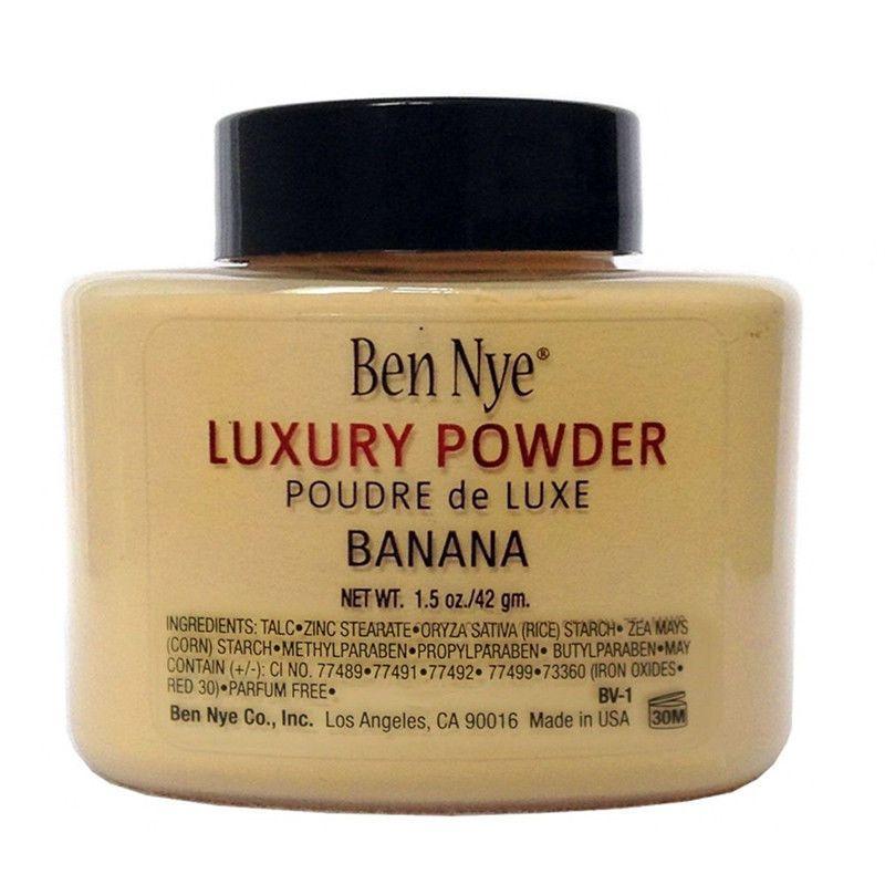 Ben Nye Luxury Banana Powder 1 5 Oz Bottle Face Makeup Kim Free Shipping Banana Luxury Powder Ben Nye Luxury Powder Banana Powder