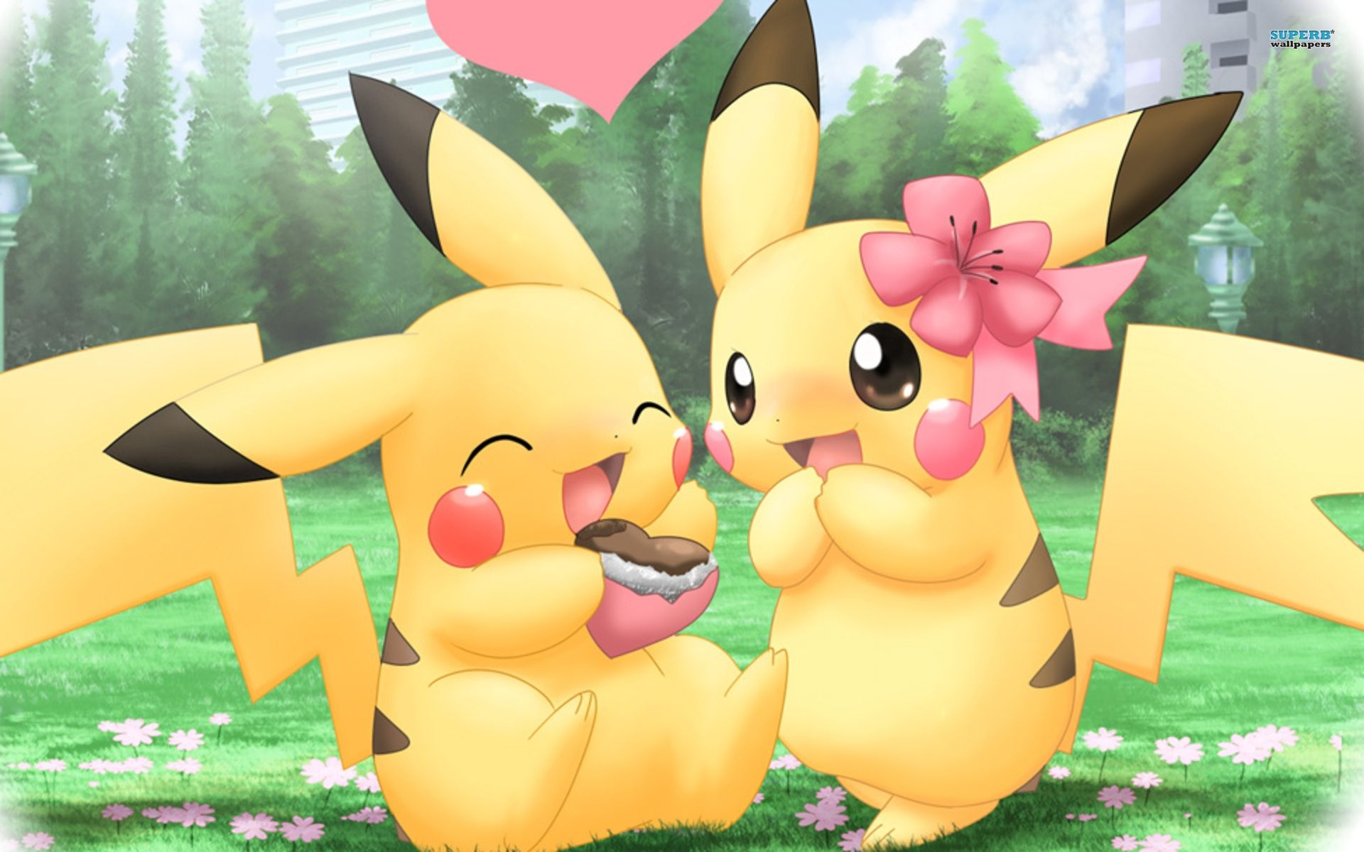 I Personally Ship Pikachu And Buneary But This Is Adorable