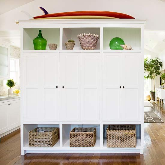 Use Storage As A Room Divider! More Storage Ideas: Http://www