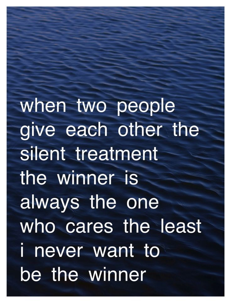 Pin by delta rochpanto on Inspirational Silent treatment