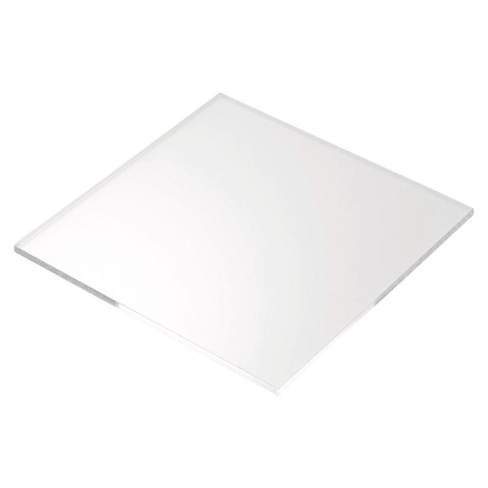 Plexiglas 48 In X 48 In X 0 250 In Acrylic Sheet 2 Pack Mc48482502pck The Home Depot Clear Acrylic Sheet Acrylic Sheets Frosted Acrylic Sheet