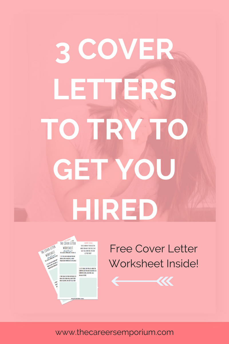 Cover Letters To Try To Get You Hired  Free Cover Letter